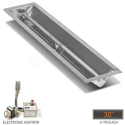 """Linear Trough Drop-in Burner System - 30"""" Electronic"""