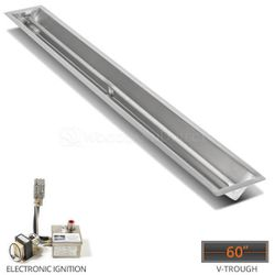 """Linear Trough Drop-in Burner System - 60"""" Electronic"""