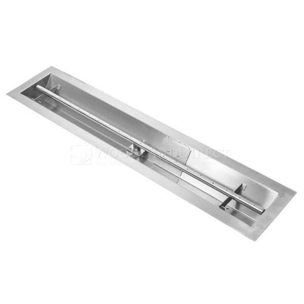 "Linear Trough Gas Burner with Match Lit Ignition - 36"" image number 0"