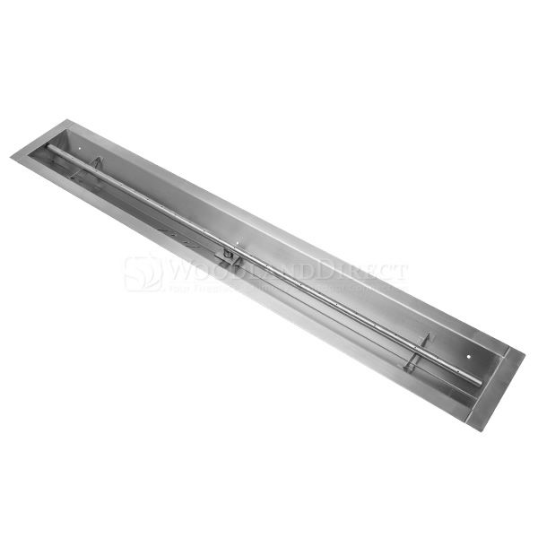 "Linear Trough Gas Burner with Match Lit Ignition - 48"" image number 0"