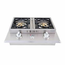 Lion Double Side Burner -26""