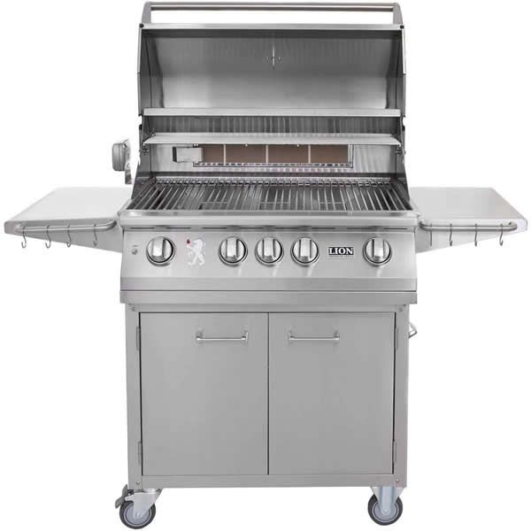 "Lion L75000 Cart-Mount Gas Grill - 32"" image number 1"