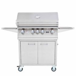 Lion L75000 Cart-Mount Gas Grill - 32""