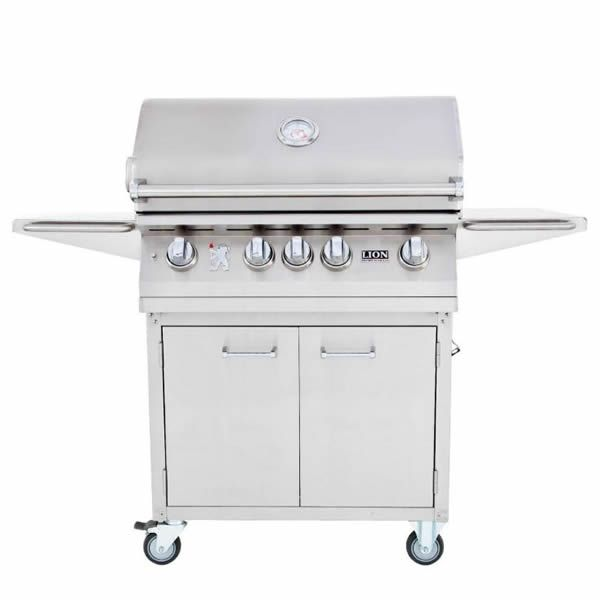 "Lion L75000 Cart-Mount Gas Grill - 32"" image number 0"