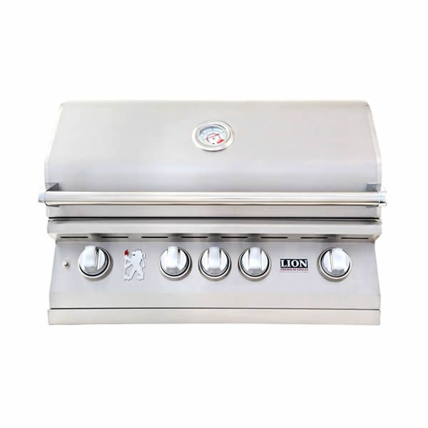 "Lion L75000 Built-In Gas Grill - 32"" image number 0"