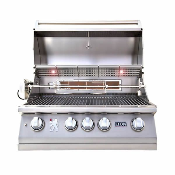 "Lion L75000 Built-In Gas Grill - 32"" image number 1"