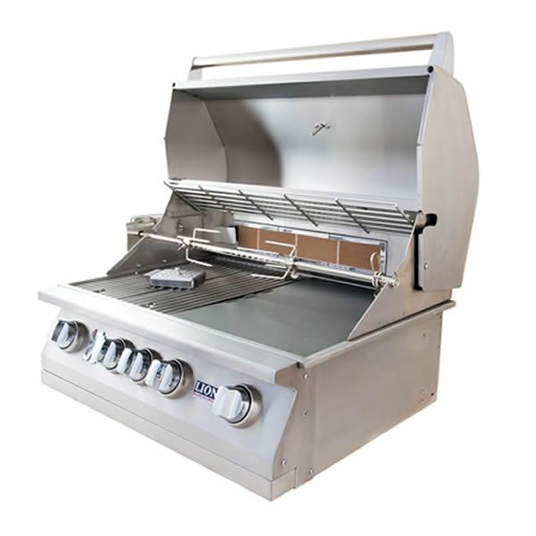 "Lion L75000 Built-In Gas Grill - 32"" image number 2"