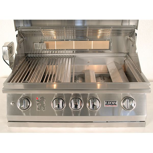 "Lion L75000 Built-In Gas Grill - 32"" image number 6"