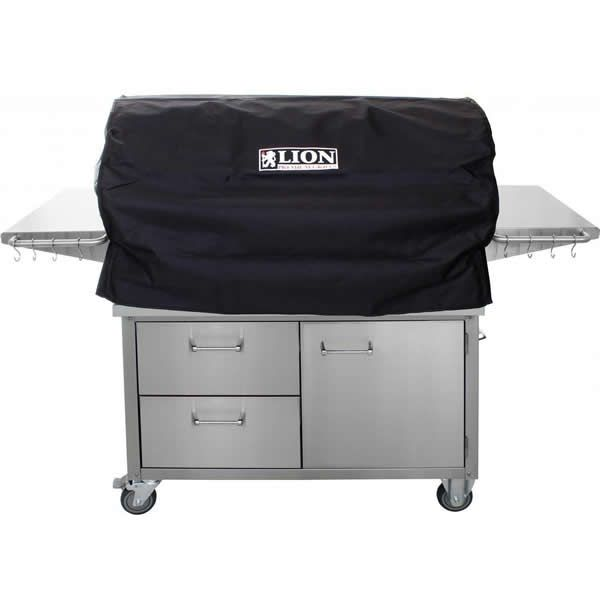 "Lion L90000 Cart-Mount Gas Grill - 40"" image number 2"