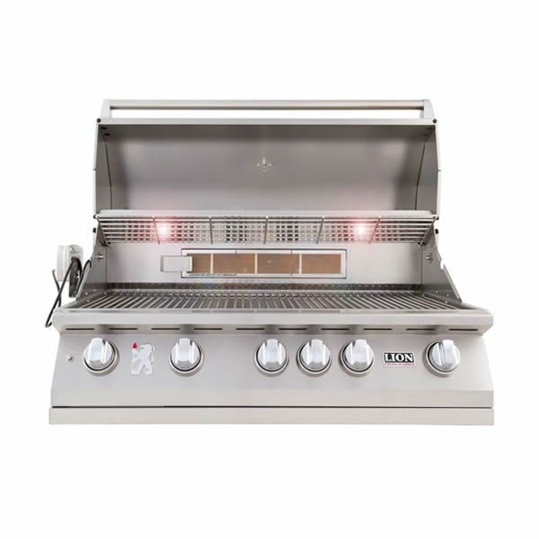 """Lion L90000 Built-In Gas Grill - 40"""" image number 1"""