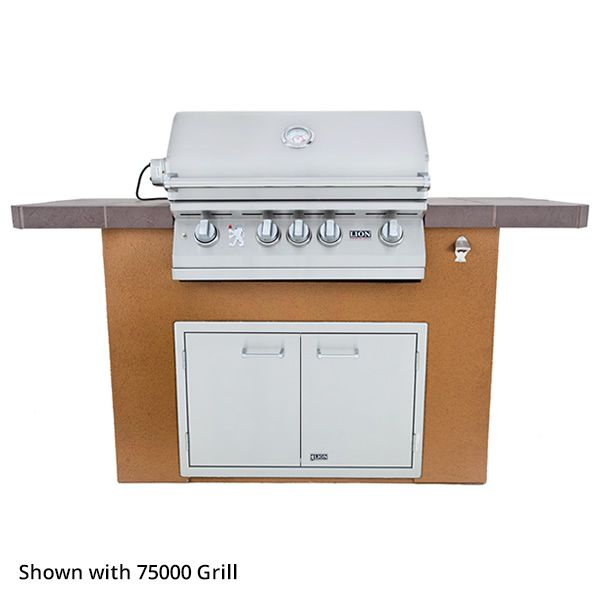 Lion Prominent Q Grill Island image number 0