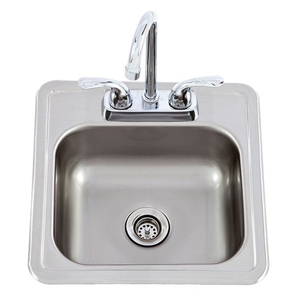 Lion Stainless Steel Bar Sink with Faucet image number 0