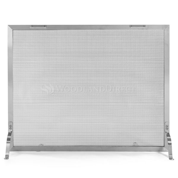 Lumino Stainless Steel Fireplace Screen image number 0