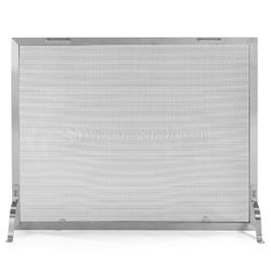 Lumino Stainless Steel Fireplace Screen