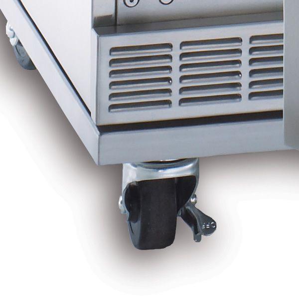 Lynx Caster Kit for Outdoor Refrigerator/Bev Dispenser image number 1