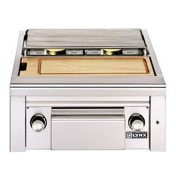 Lynx Professional Built-In Double Side Burner & Prep Station