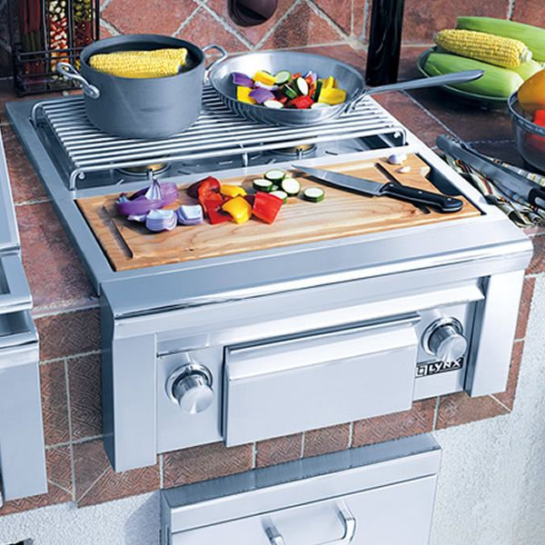 Lynx Professional Built-In Double Side Burner & Prep Station image number 2