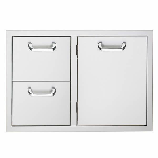 "Lynx Sedona 36"" Storage Door & Double Drawer Combo image number 0"