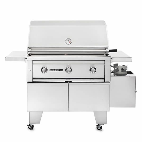 """Lynx Sedona ADA Compliant Cart-Mount Gas Grill - 36"""" image number 0"""