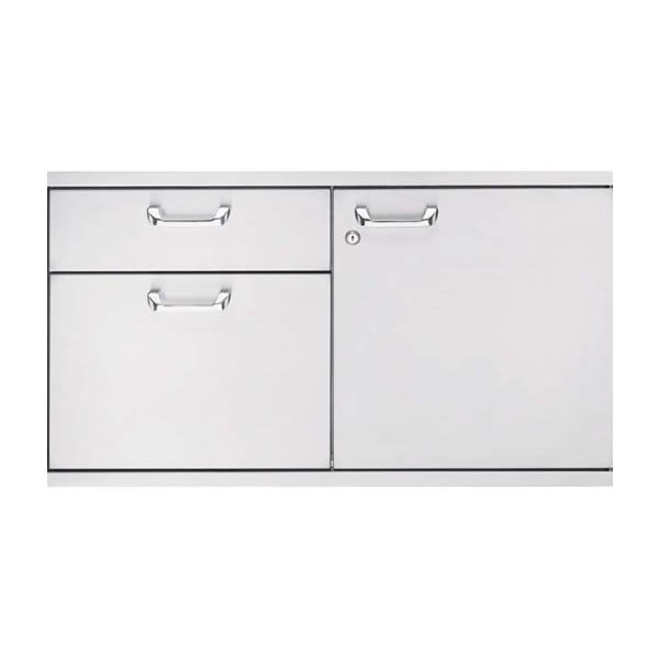 "Lynx Storage Door & Double Drawer - 42"" image number 0"