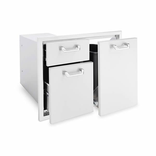 Lynx Trash Center and Double Drawer Combo Unit image number 0