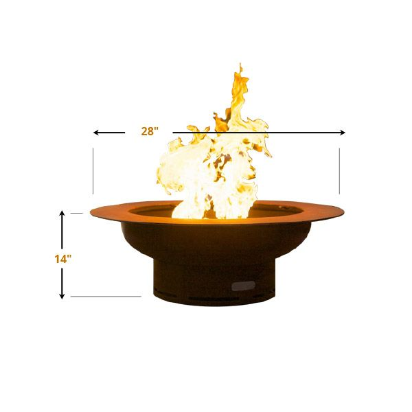Saturn Gas Fire Pit image number 5
