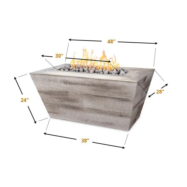 Plymouth Gas Fire Pit image number 8