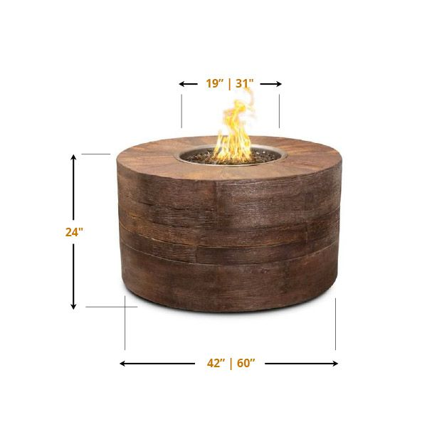 Sequoia Gas Fire Pit image number 4
