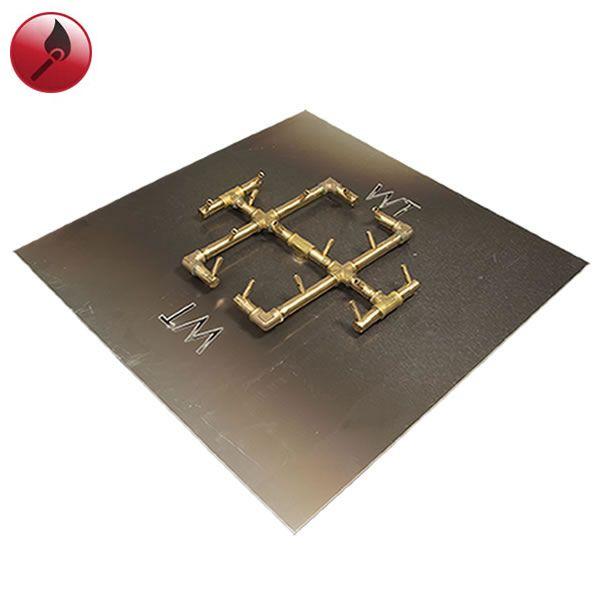 """180,000 BTU Square Match Lit Crossfire Burner System - 30"""" image number 0"""