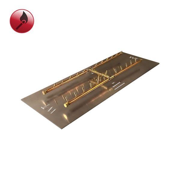 """240,000 BTU Match Lit Crossfire H-Burner System - 46"""" image number 0"""