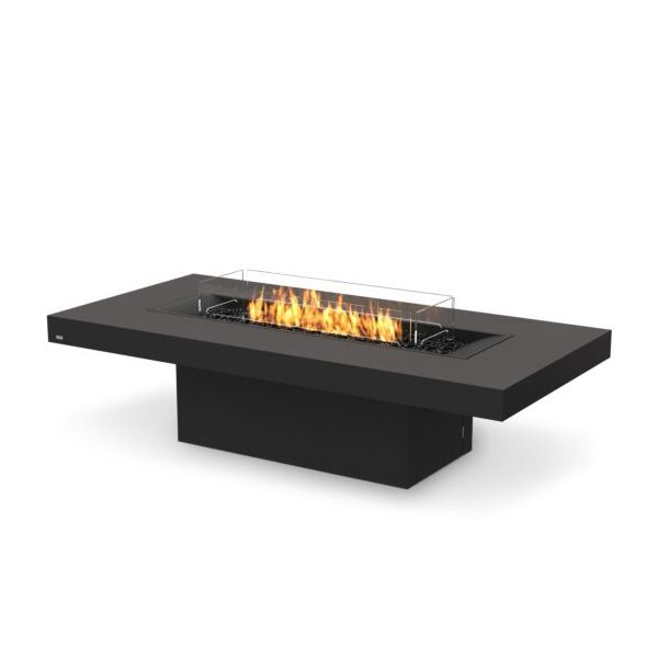 EcoSmart Fire Gin 90 Chat Height Gas Fire Pit Table image number 1