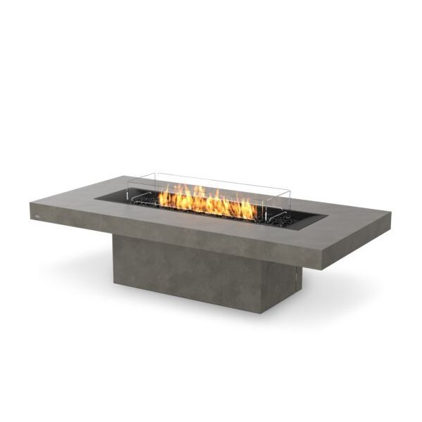 EcoSmart Fire Gin 90 Chat Height Gas Fire Pit Table image number 3