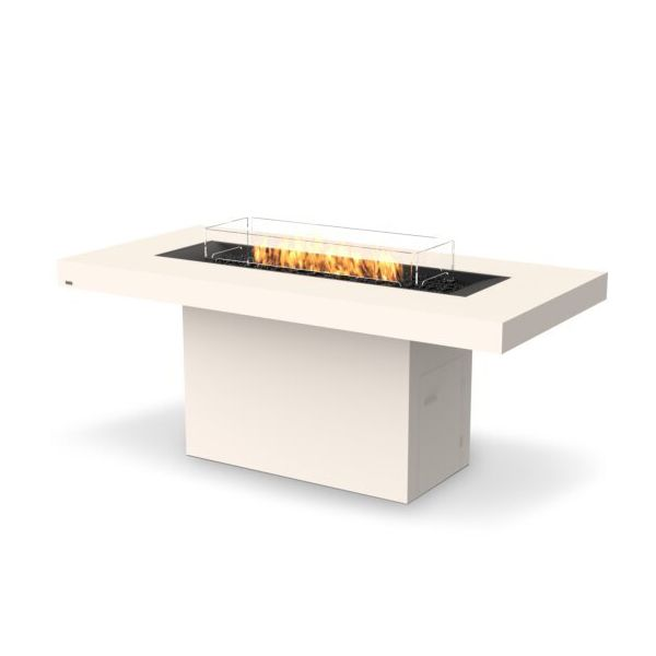 EcoSmart Fire Gin 90 Bar Height Gas Fire Pit Table image number 1