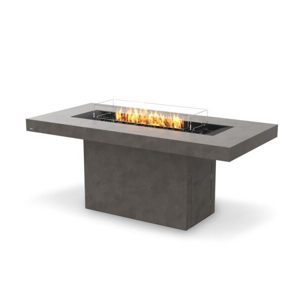 EcoSmart Fire Gin 90 Bar Height Gas Fire Pit Table image number 2