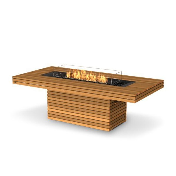 EcoSmart Fire Gin 90 Dining Height Gas Fire Pit Table image number 4