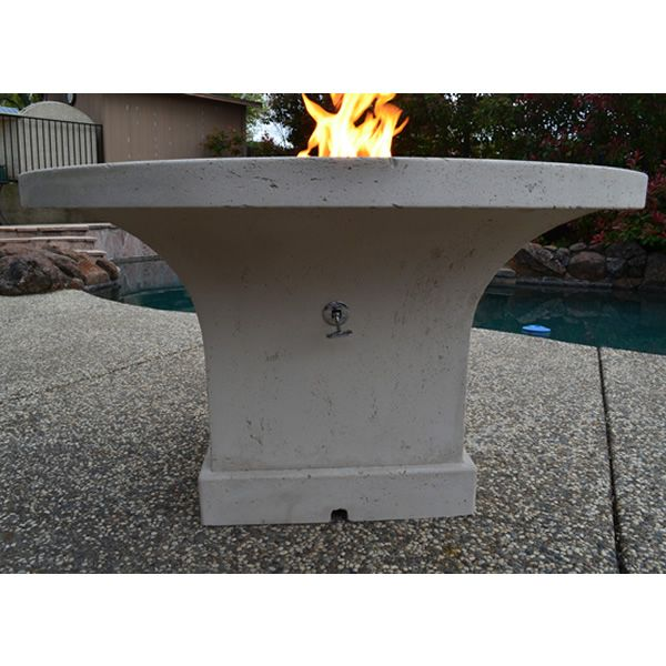 Mount Lassen Gas Fire Pit Table - Dining Height image number 3