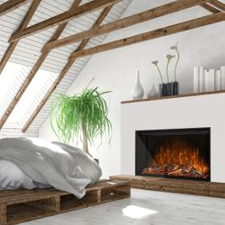 """Modern Flames Redstone Built-In Electric Fireplace - 54"""""""