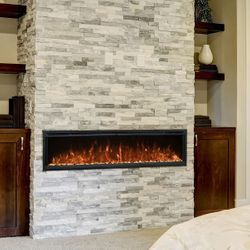 "Modern Flames Spectrum Slimline Electric Fireplace - 74"""