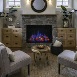 """Modern Flames Redstone Built-In Electric Fireplace - 26"""""""