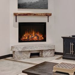 """Modern Flames Redstone Built-In Electric Fireplace - 36"""""""