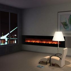 Modern Flames Ambiance CLX2 Series Linear Electric Fireplace - 100""