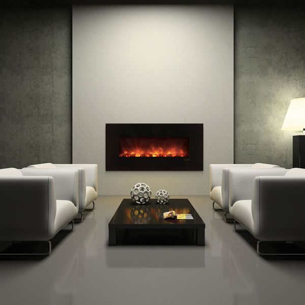 "Modern Flames Ambiance CLX Series Linear Electric Fireplace - 60"" image number 0"