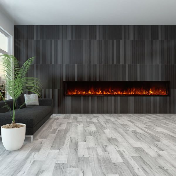 "Modern Flames Landscape Fullview Series Linear Electric Fireplace -100"" image number 0"