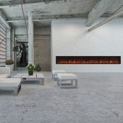 Modern Flames Landscape Fullview Series Linear Electric Fireplace - 120""