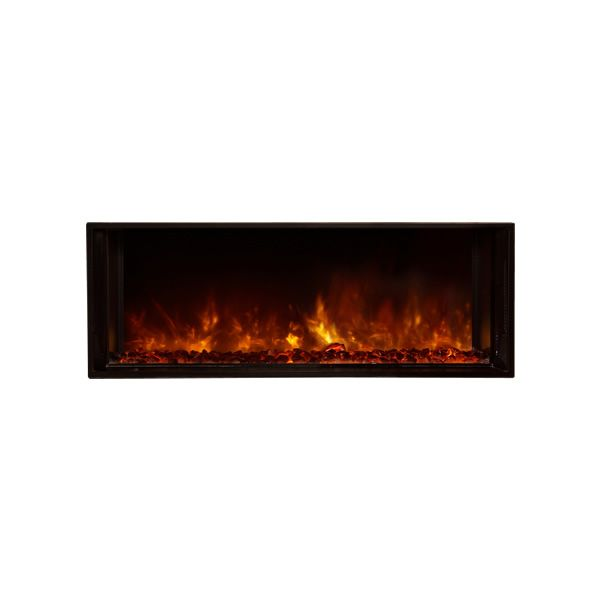 "Modern Flames Landscape Fullview Series Linear Electric Fireplace -40"" image number 1"