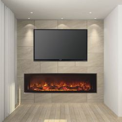 Modern Flames Landscape Fullview Series Linear Electric Fireplace - 60""