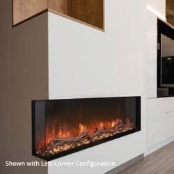 "Modern Flames Landscape Pro Multi-Side Electric Fireplace - 56"""