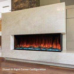 "Modern Flames Landscape Pro Multi-Side Electric Fireplace - 68"""