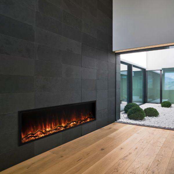 """Modern Flames Landscape Pro Slim Electric Fireplace - 56"""" image number 0"""