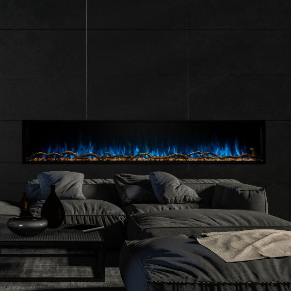 "Modern Flames Landscape Pro Slim Electric Fireplace - 80"" image number 0"